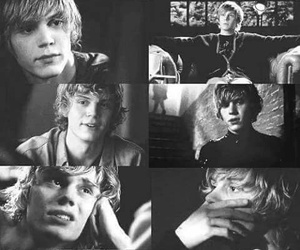 tate, ahs, and evan peters image