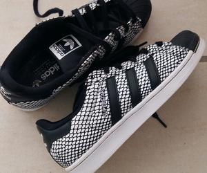 adidas; black and white image