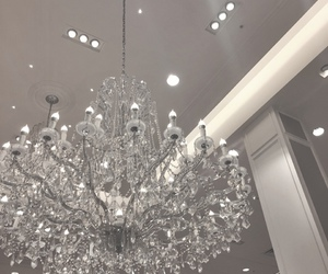 luxury, home, and chandelier image