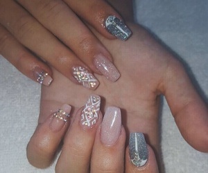 done, follow, and nails image