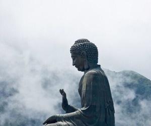 Buddha, indie, and statue image