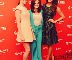 pll, lucy hale, and troian bellisario image