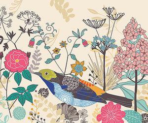 art, botanical, and colorful image