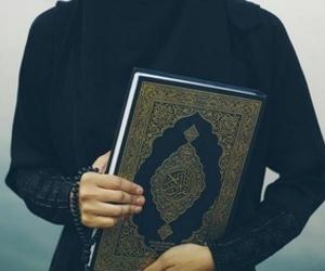 islam, quran, and muslimah image