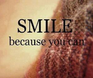 smile and you can image