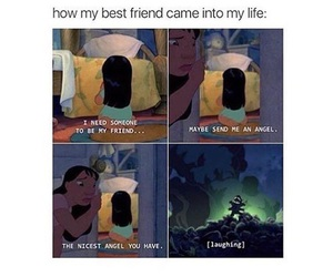 funny, disney, and best friends image