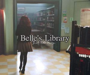 book, library, and belle french image