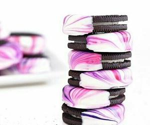 food, oreos, and pink image