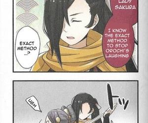 anime, funny, and sakura image
