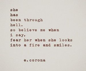 quotes, fire, and smile image