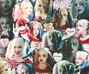 Collage, margot robbie, and DC image