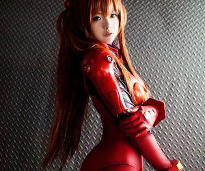 asuka, cosplay, and evangelion image