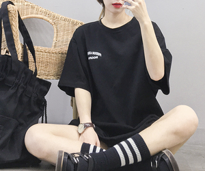 asian girl, k fashion, and korean girl image