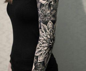 arm, tattoo, and sleeve image