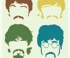 beatles, los, and music image