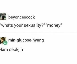 meme, jin, and kpop image
