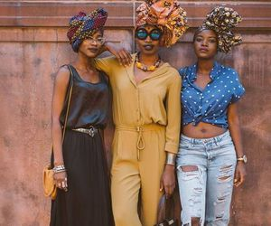 beauty, black, and turbante image