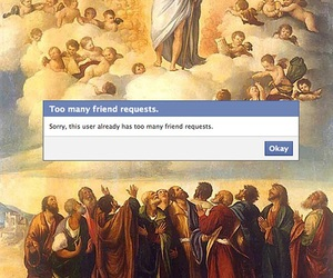 facebook, god, and art image