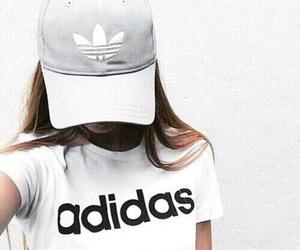 adidas, girls, and 👍 image