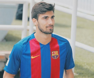 welcome, fc barcelona, and andré gomes image