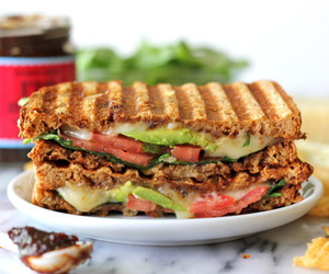 avocado, grilled cheese, and sandwich image