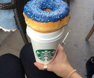 food donuts drink image