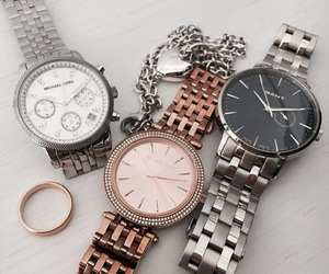 gold, Michael Kors, and silver image