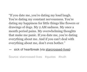 date, heartbreak, and quotes image