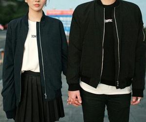couple, black, and fashion image