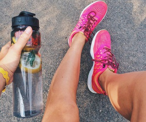 fitness, girl, and healthy image