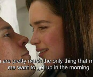 movie, me before you, and quote image