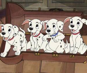 disney, childhood, and dalmatian image