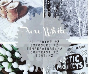 pure white, themes, and instagram image