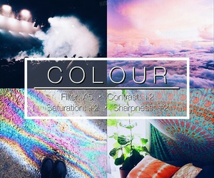 rainbow, theme, and color image