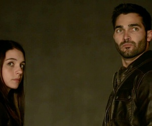 derek hale, cora hale, and teen wolf image