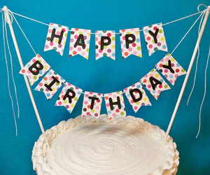 etsy, happy birthday, and high chair image