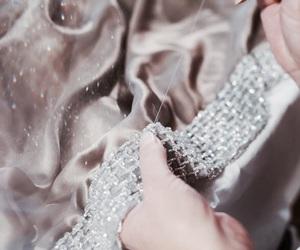 diamonds, dress, and silk image
