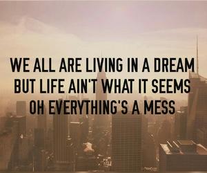 Dream, life, and sad image