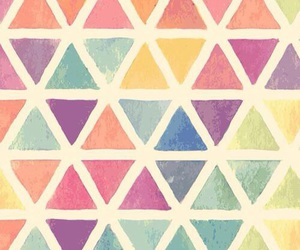 wallpaper, triangle, and background image
