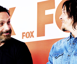 norman reedus, walking dead, and the walking dead image