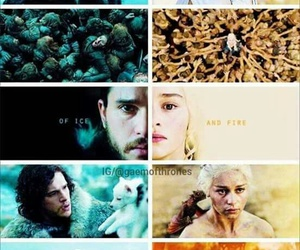 game of thrones and song of ice and fire image