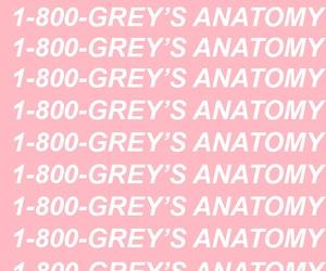 Drake, meredith grey, and pink image