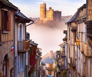 france, castle, and najac image