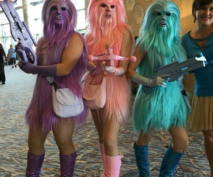 blue, chewie, and purple image