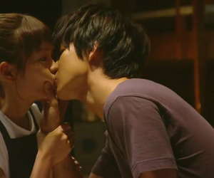 kiss, jdrama, and love image