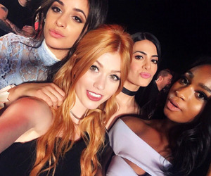 katherine mcnamara, camila cabello, and fifth harmony image