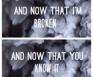 broken heart, quotes, and luke hemmings image