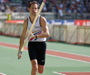 pole vault, pole vaulting, and track and field image