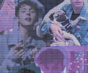 aesthetic, troye sivan, and halsey image