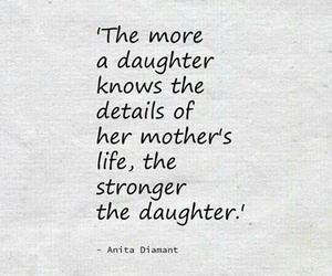 daughter, mother, and strong image